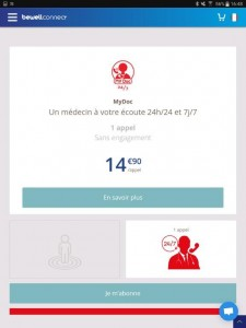 13-Ecran d'appel MyDoc